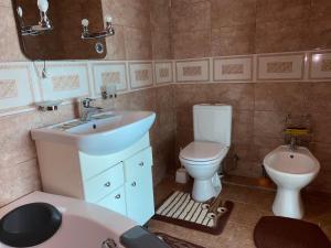 Ванная комната в Мини отель Зорэмма