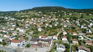A bird's-eye view of Hotel De La Route Verte