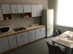 A cozinha ou cozinha compacta de Vip apartment nizami street number 1