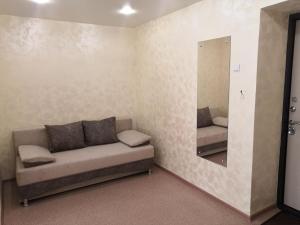 Гостиная зона в 1 комнатная квартира