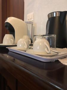 Set per la preparazione di tè e caffè presso Agriturismo La Cà Veja