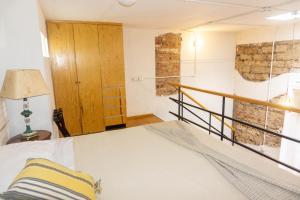 Cama o camas de una habitación en Casa Moctezuma