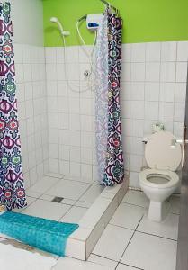 Een badkamer bij Cecil Paradise