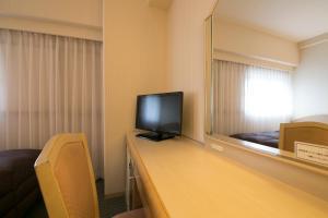 Televisi dan/atau pusat hiburan di Tottori Washington Hotel Plaza