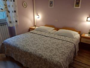 Cama o camas de una habitación en Guesthouse Villa Marija