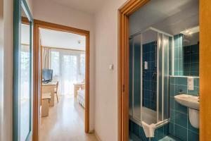 A bathroom at Geovita Zakopane