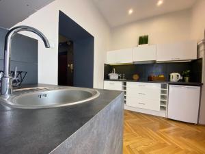 Kuchnia lub aneks kuchenny w obiekcie P&J Apartamenty Grodzka