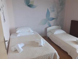 En eller flere senger på et rom på Gea