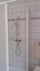Koupelna v ubytování Apartman Panoráma