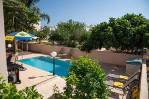 A view of the pool at Cape Greco Villa Ekaterina or nearby
