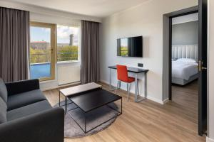 Zona de estar de Park Inn by Radisson Meriton Conference & Spa Hotel Tallinn