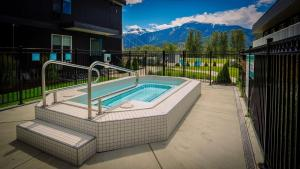The swimming pool at or near Stoke Hotel SureStay Collection by Best Western