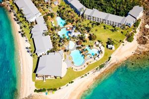 A bird's-eye view of Daydream Island Resort