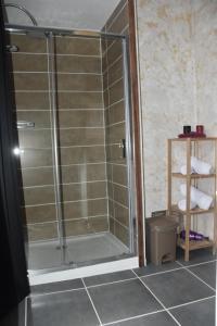 """Ein Badezimmer in der Unterkunft """"Chez Ba'Nus"""""""