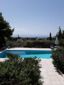 Πισίνα στο ή κοντά στο Villa Loutraki Sunset