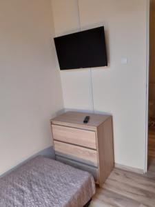 Telewizja i/lub zestaw kina domowego w obiekcie Apartamenty Nad Wisłą