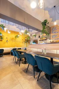 A restaurant or other place to eat at Salvator Boutique Hotel