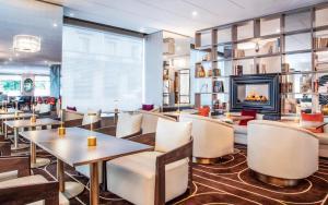 مطعم أو مكان آخر لتناول الطعام في فندق بريستول