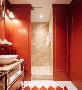 Un baño de Bairro Alto Hotel