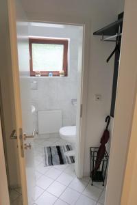 Ein Badezimmer in der Unterkunft Lichtentaler Allee Deluxe