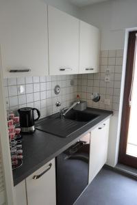 Küche/Küchenzeile in der Unterkunft Lichtentaler Allee Deluxe