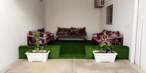 Uma área de estar em الخليج للوحدات السكنية للعائلات فقط
