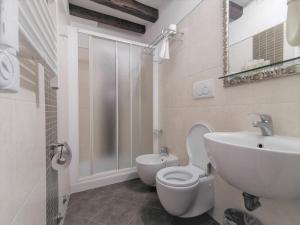 A bathroom at Hotel Rio