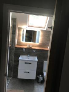 A bathroom at Bryn Goleu Bed & Breakfast