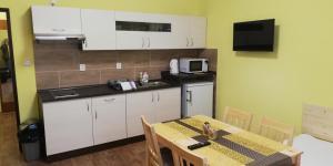 A kitchen or kitchenette at Booking Tržní
