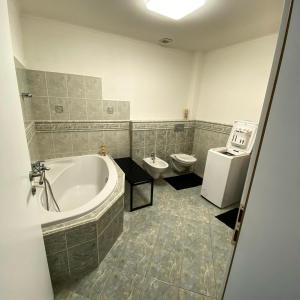 Kúpeľňa v ubytovaní Apartments RENESANCE