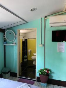 ห้องน้ำของ Meephawa Resort
