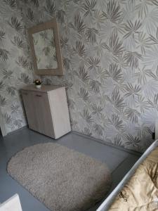 A bathroom at Apartment on Kosmonavtov Street 20