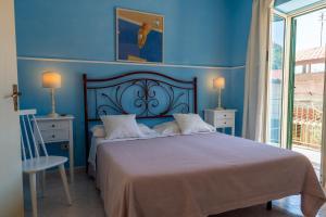 Letto o letti in una camera di B&B Pietra Luce