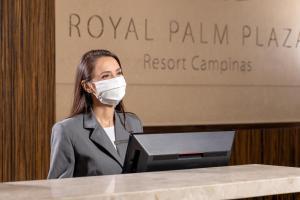 O saguão ou recepção de Royal Palm Plaza Resort