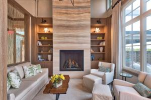 A seating area at Carneros Resort and Spa
