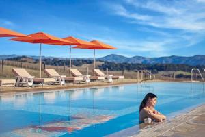 The swimming pool at or near Carneros Resort and Spa