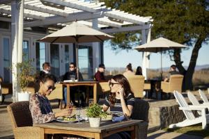 A restaurant or other place to eat at Carneros Resort and Spa