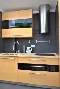 A kitchen or kitchenette at TCZ Mokra