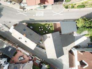 Widok z lotu ptaka na obiekt The best hostel