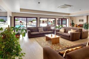 Zona de estar de Hotel Alba