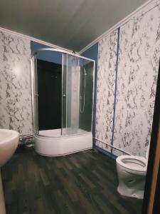 Ванная комната в Tarusa Apartment