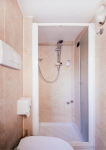 A bathroom at Hotel Grifo