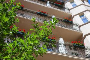 Ein Balkon oder eine Terrasse in der Unterkunft Hotel & Apartments Zarenhof Berlin Prenzlauer Berg