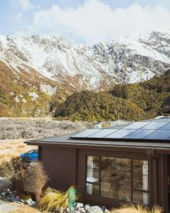 YHA Mt Cook during the winter