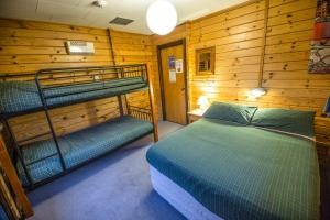 A bunk bed or bunk beds in a room at YHA Mt Cook