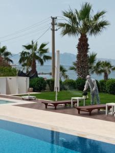 The swimming pool at or close to Hotel Turiya