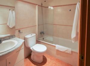 Un baño de Apartamentos Rurales Altuzarra