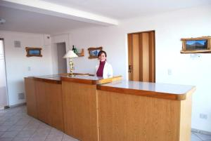 The lobby or reception area at Apartment Al Sur