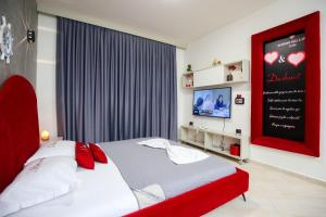 A bed or beds in a room at Diamond Hill Resort & SPA