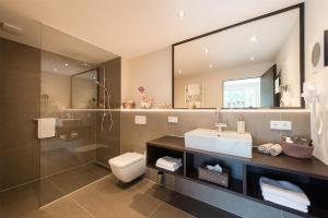 A bathroom at Ringhotel Munte am Stadtwald